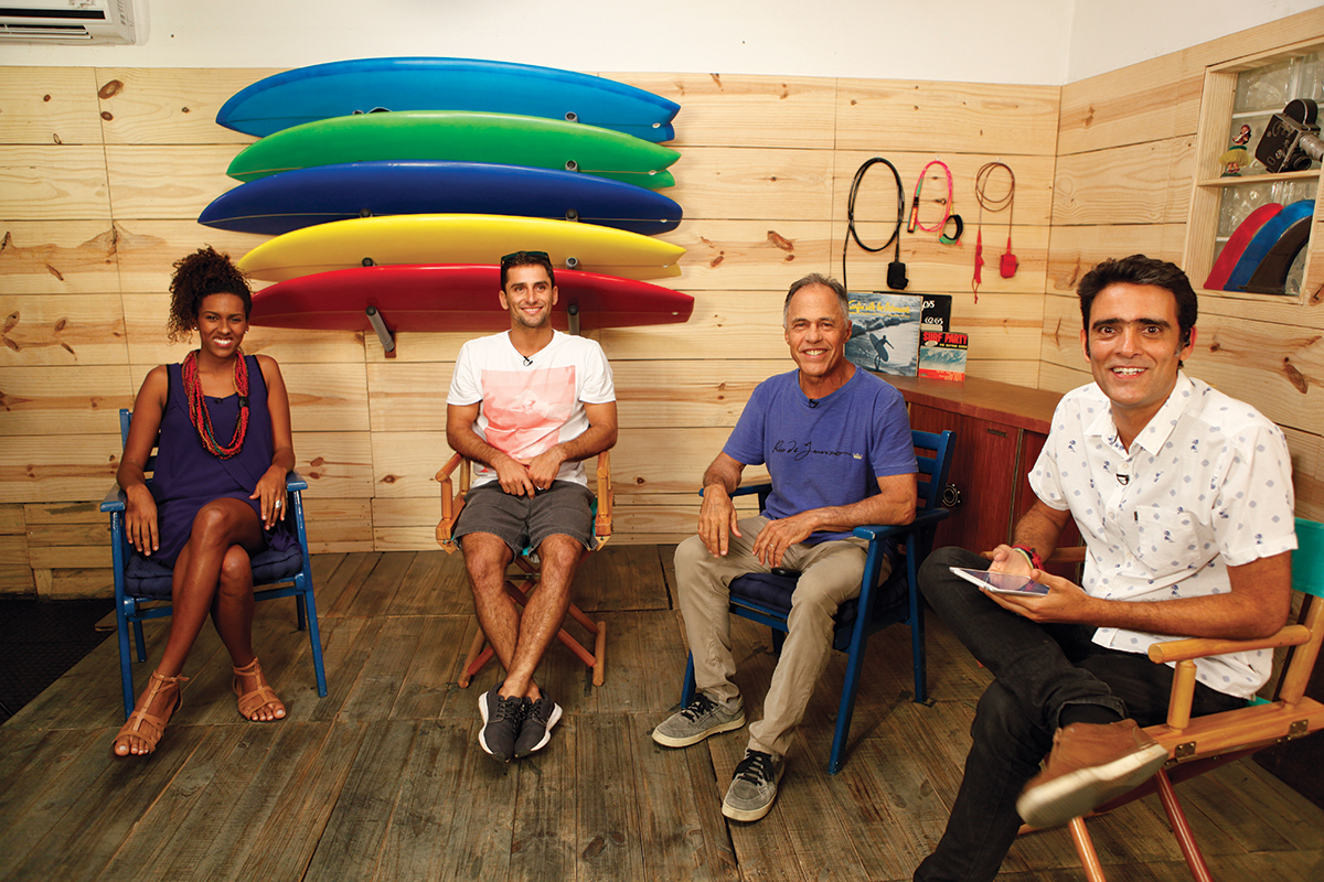 Cravando a Borda: Erica Prado, Bruninho Santos, Ricardo Bocão e Bruno Bocayuva, ao vivo no Woohoo. Foto: Arquivo Pessoal