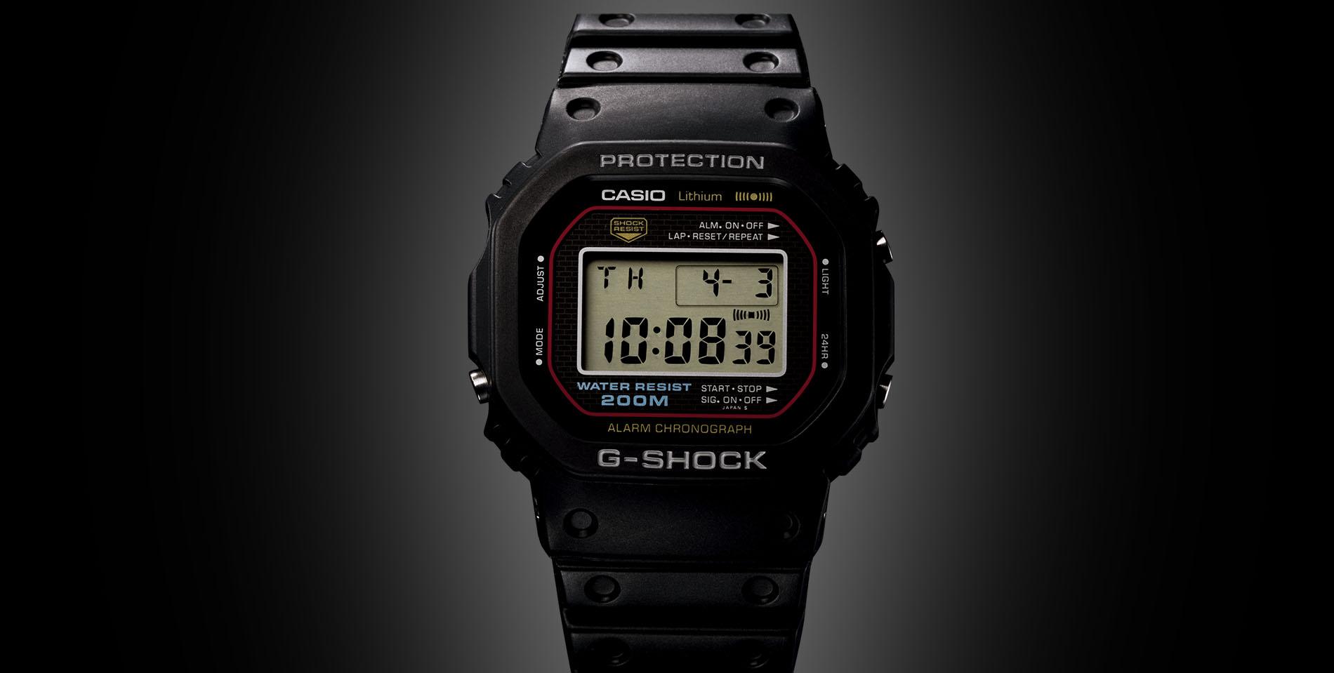 6fd3dc21625 G-Shock  35 inquebráveis anos - Hardcore