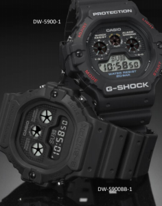 2d1237d6f2e Este é mais um modelo de comemoração aos 35 anos da G-Shock originalmente lançado  em 1992. Na época