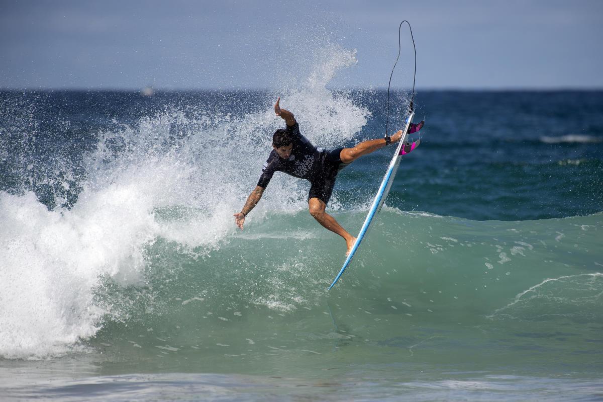 Alex Ribeiro em Manly, Sydney