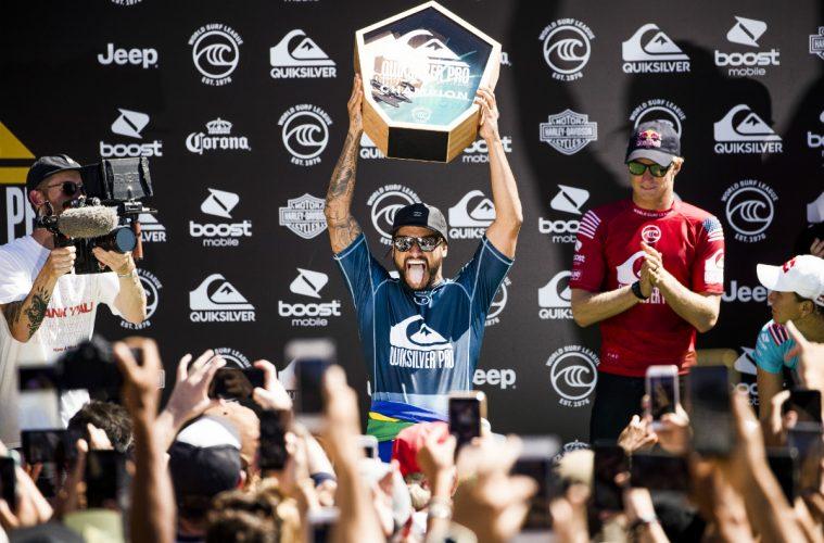 Italo Ferreira, campeão na Gold Coast