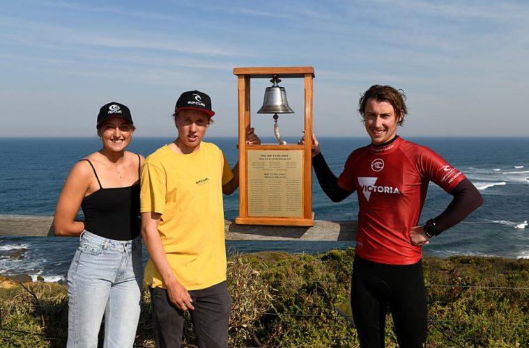 Vencedores da triagem de Bells Beach
