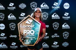 Caroline Marks, campeã na Gold Coast