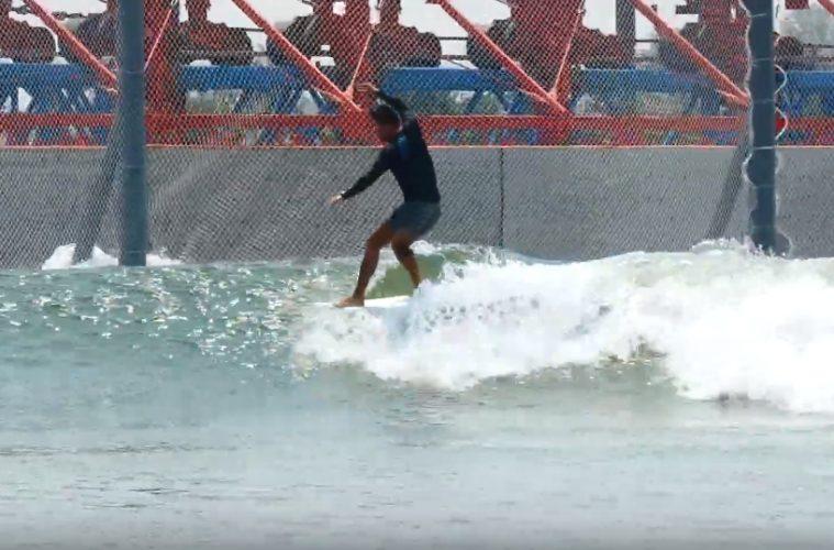 piscina de ondas na China