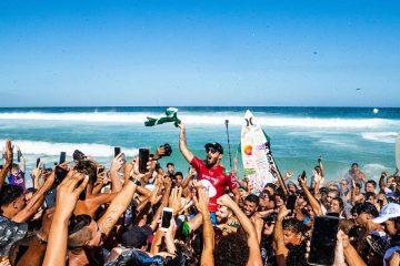 Filipe Toledo campeão do Oi Rio Pro 2019