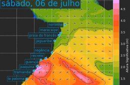 Previsão de ondas via broou