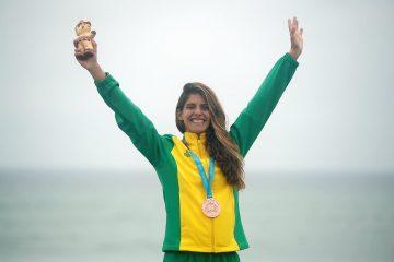 Nicole Pacelli, medalhista no Pan de Lima 2019
