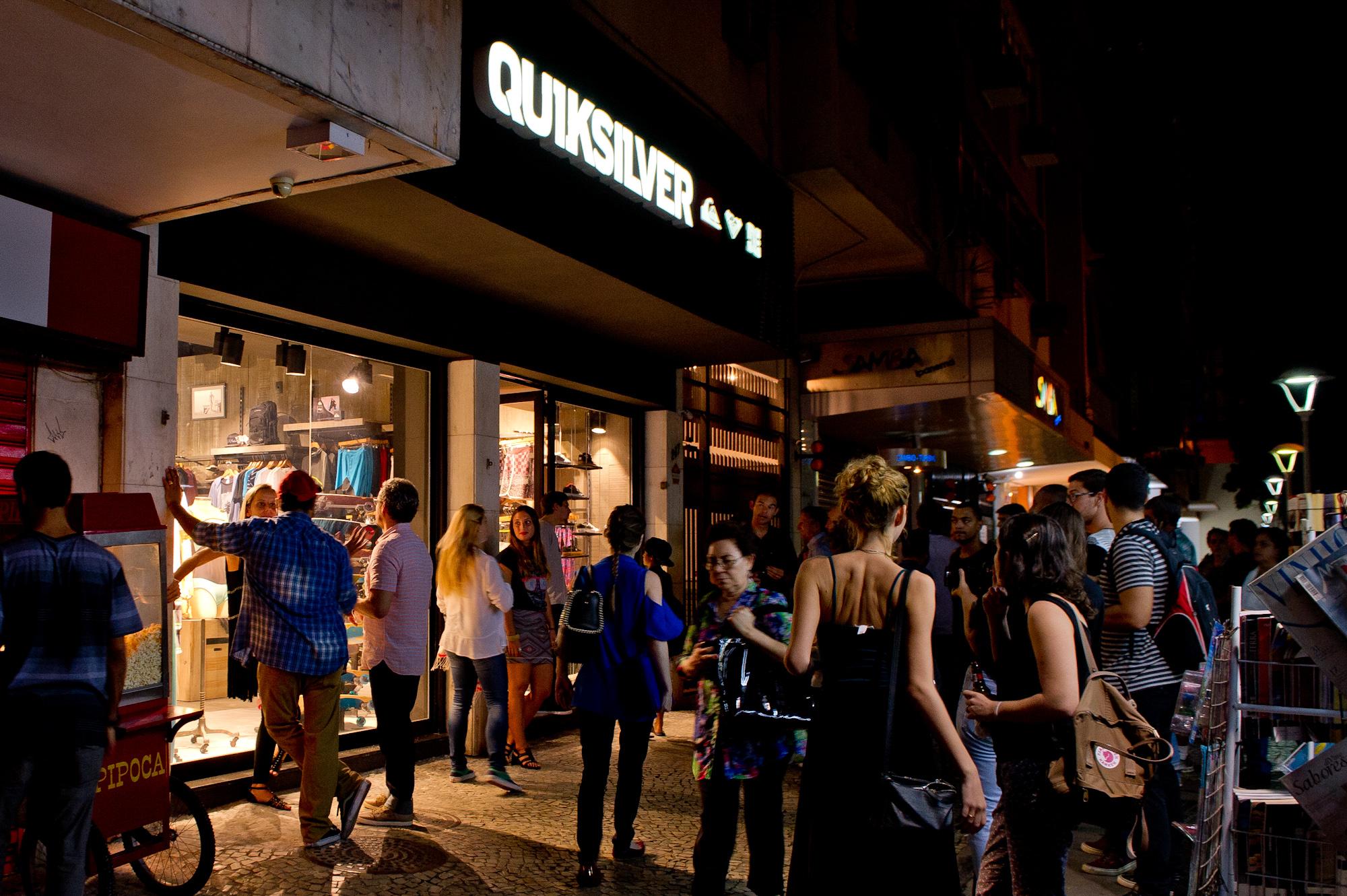 Quiksilver inaugura loja no Rio de Janeiro! Foto  Quiksilver   Divulgação 226787cd44
