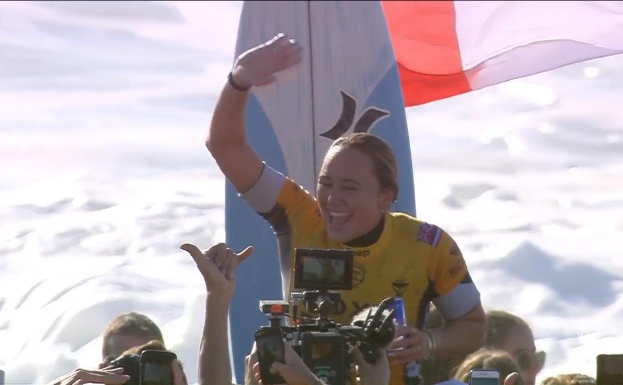 Carissa Moore campeã na França (2019)