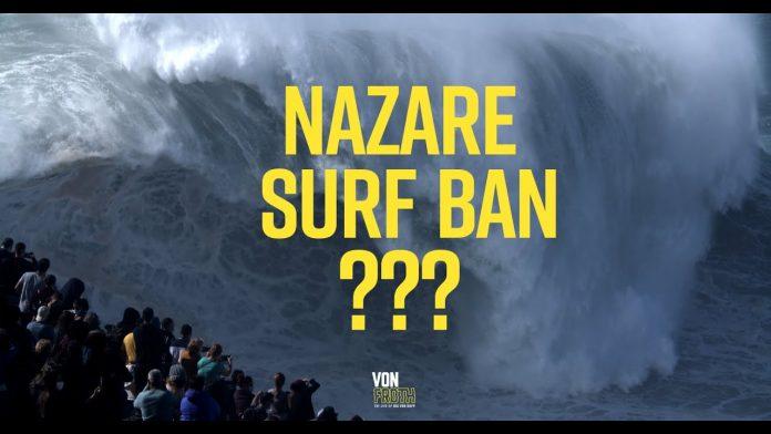 surf banido Nazaré