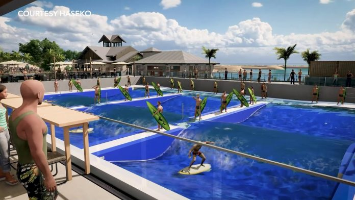 Wai Kai Wave: a maior piscina de ondas em águas profundas do mundo