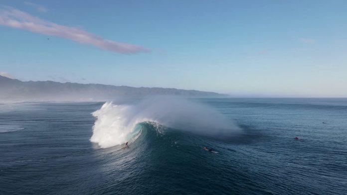 maior swell da temporada havaí