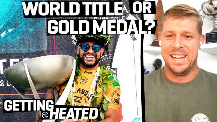 O que vale mais? A medalha de ouro olímpica ou um título mundial de surf?