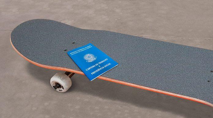 Skate profissão