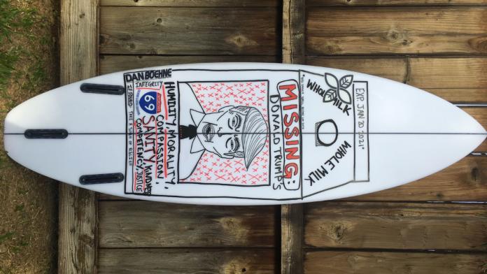 o surf é político