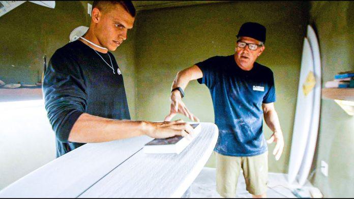 Dentro da sala de shape com Jon Pyzel, da Pyzel Surfboards
