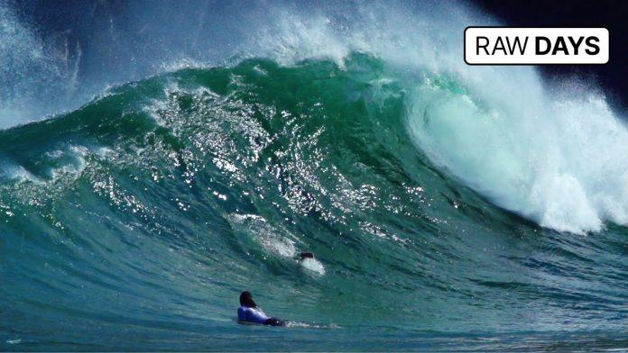 Renan Hanada e Kauê Auzier surfam tubos em secret brasileiro