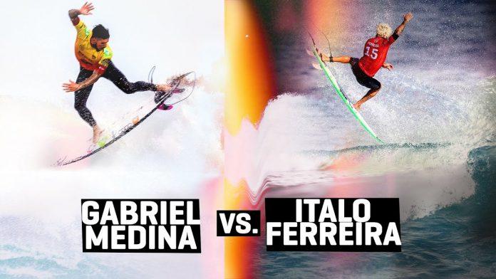 Gabriel Medina e Italo Ferreira