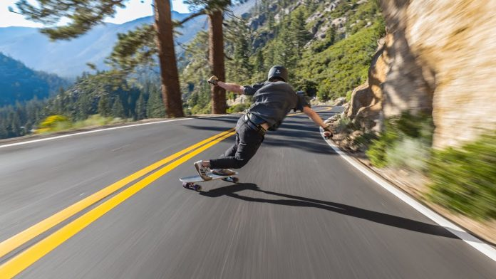 Skate downhill