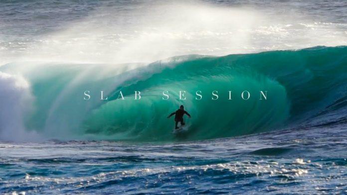 Kerby Brown em ondas mortais no Índico. VÍDEO