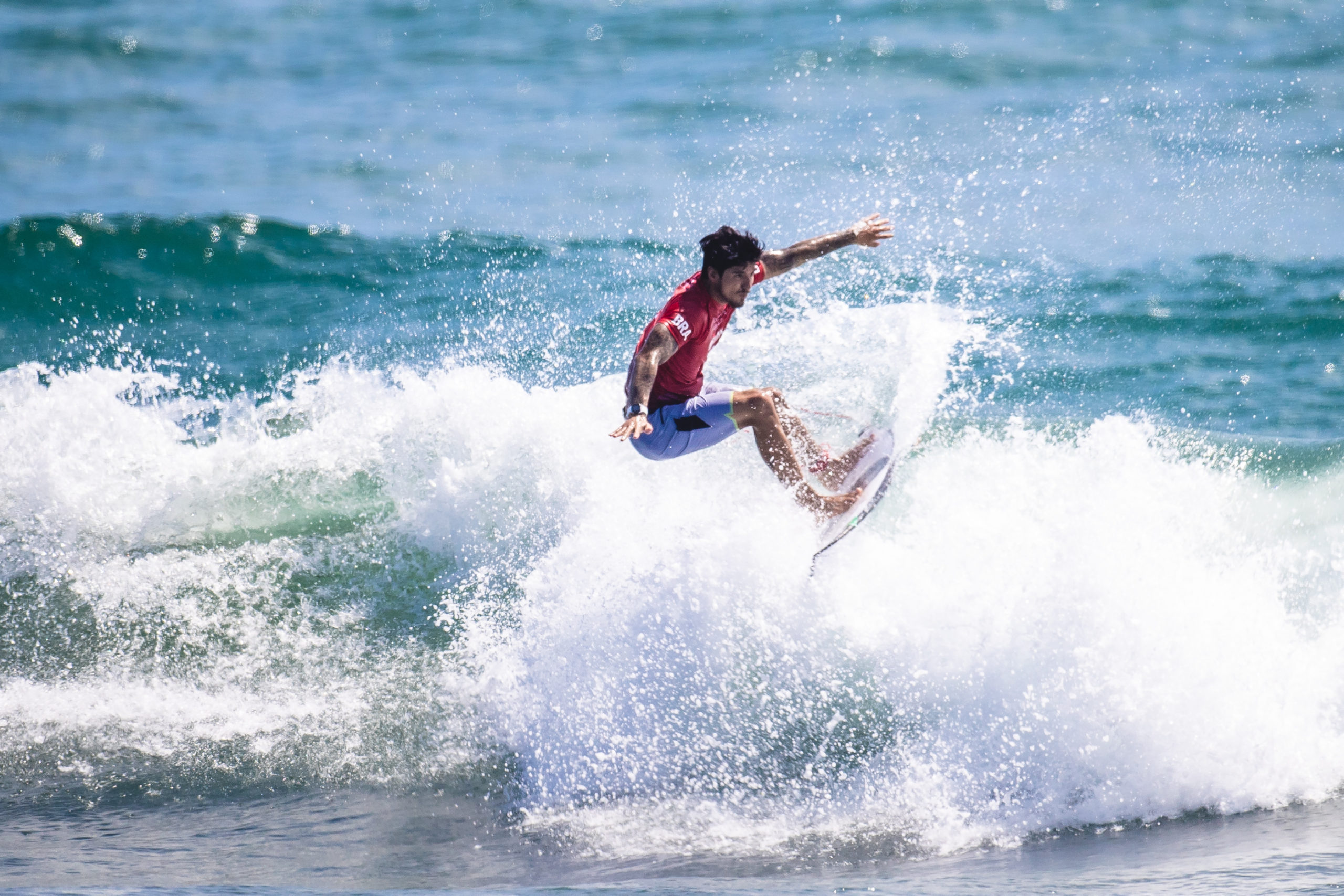 Surf será destaque na programação do Brasil nas Olimpíadas nesta segunda e terça-feira