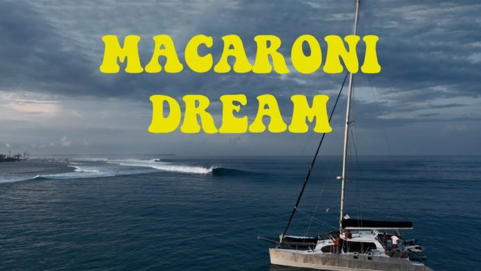 Macaronis de sonho com Nic Von Rupp. Surfista português pega pico praticamente sem crowd:
