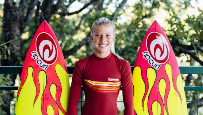 Foi melhor aéreo já dado por uma mulher surfista?