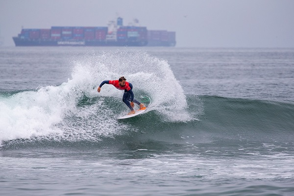 US Open of Surfing Lucas Silveira