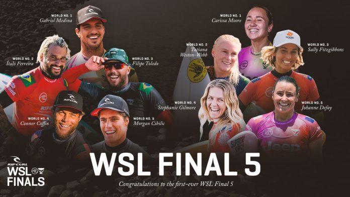 Adiada por hoje a decisão do título em Trestles: nova chamada acontece na quinta-feira, 10/9. Clique e confira mais detalhes Rip Curl WSL Finals